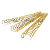 Lò Xo Kẽm Đóng Sách Phi 14.3mm Màu Vàng Gold