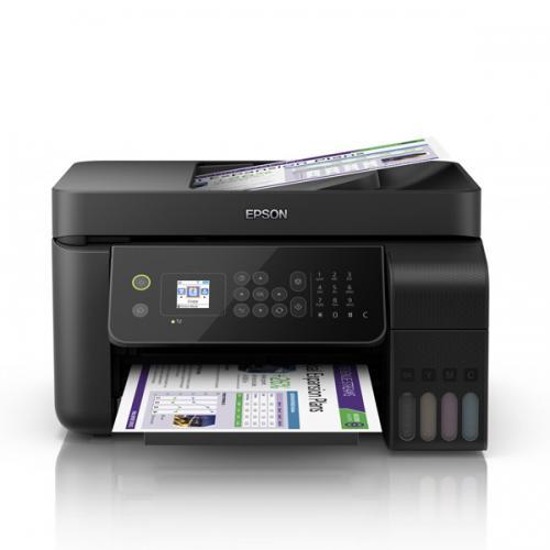 Máy in màu Epson L5190 wifi - in, scan, copy, fax
