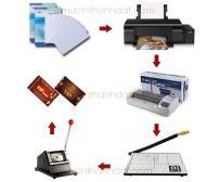 Trọn Bộ Sản Phẩm In Thẻ Nhựa PVC 3 Lớp