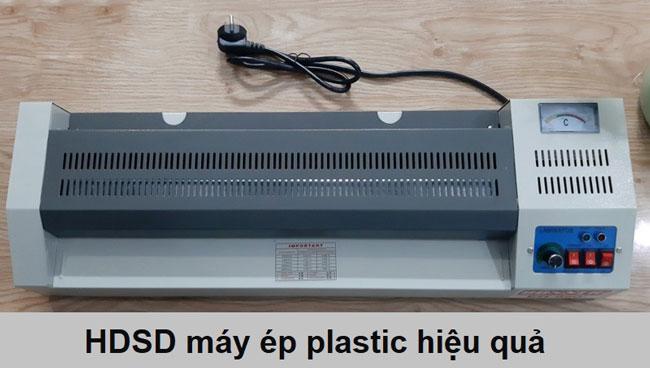 Hướng dẫn sử dụng máy ép nhựa plastic hiệu quả