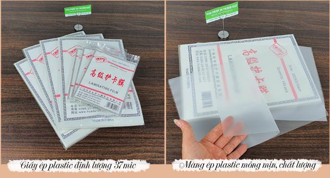 Màng ép plastic định lượng 37 mic