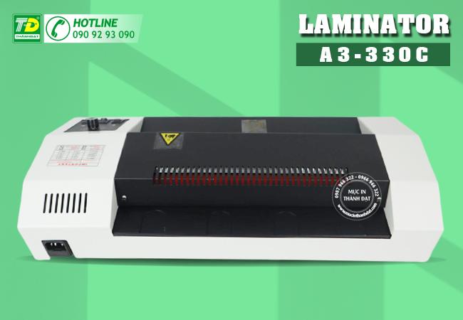máy ép plastic Laminator A3-330C