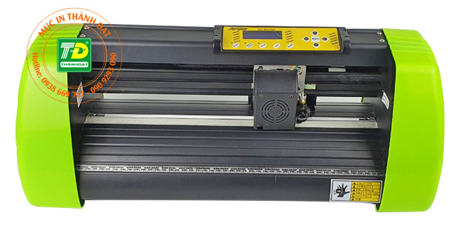Máy cắt bế decal AC-450 giá bao nhiêu?