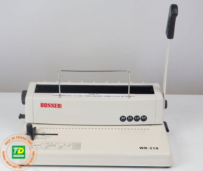 Máy Đóng Sách BOSSER WR-318 (1)