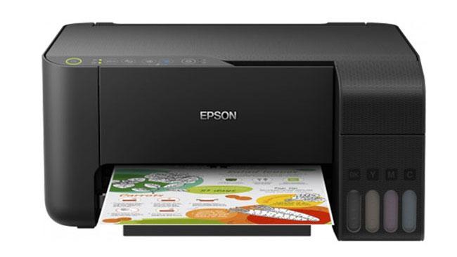 Epson L3150 tích hợp 3 tính năng in; scan; copy