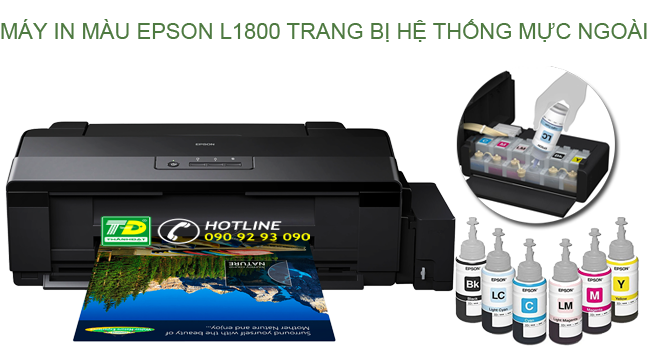 Máy In Màu EPSON L1800