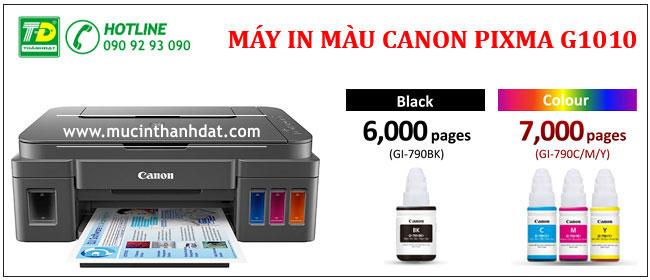 Máy In Màu CANON PIXMA G1010 (1)