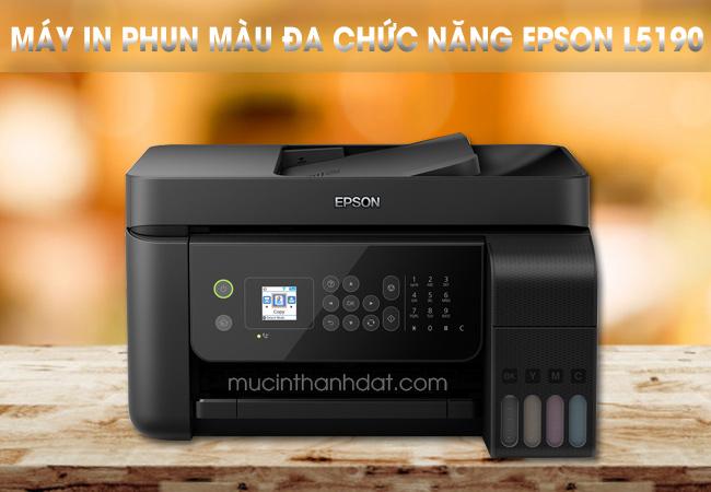 Đánh giá máy in màu Epson L5190 wifi