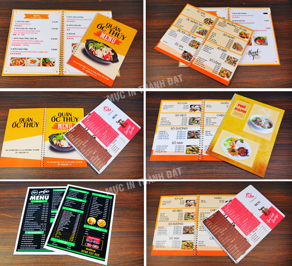 in menu nhựa tphcm
