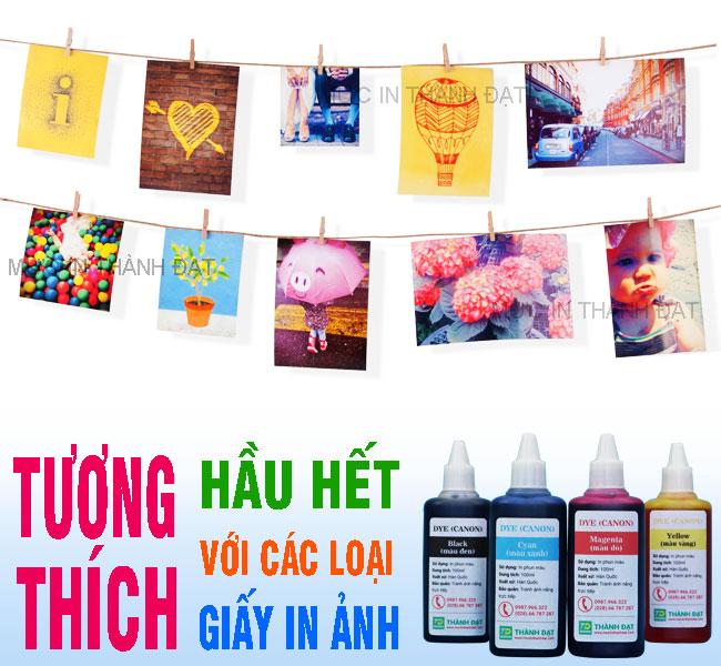 Thành Đạt cung cấp Mực in Dye UV 100ml