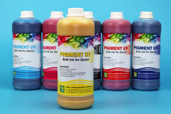 Mực in Pigment UV 1 lít
