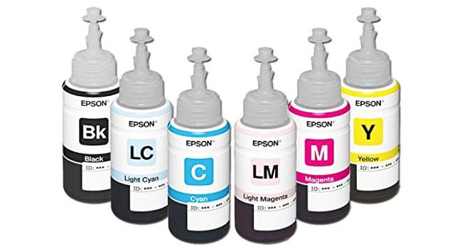 Mực In Chính Hãng Epson L800, L805, L1800