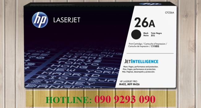 Mực In Laser Trắng Đen HP26A (CF226A)