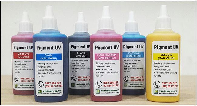 Mực Pigment UV 100ml