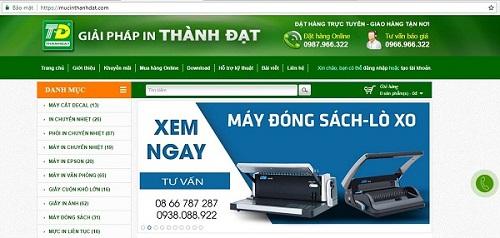 Công ty TNHH Giải Pháp In Thành Đạt